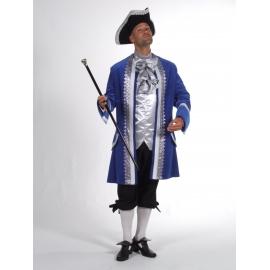 Marquis bleu/argent