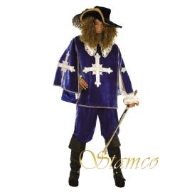 Location costume Mousquetaire bleu