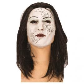 Masque latex zombie femme