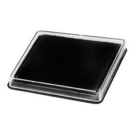 Encrier noir 7.5x5cm
