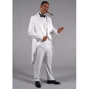 Costume Jaquette blanc