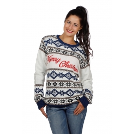 Pull moche homme/femme Merry Christmas