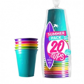 20 gobelets Original Cup 53cl - Summer