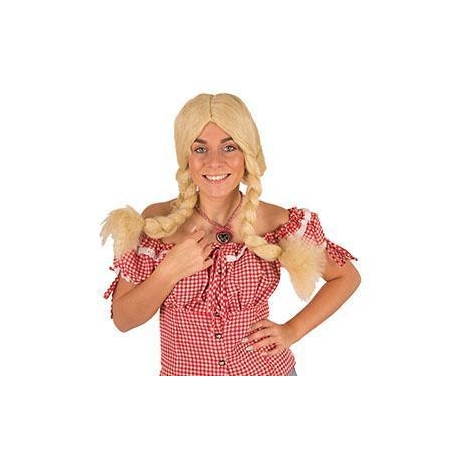 Perruque Tyrolienne blonde