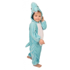 Costume peluche dauphin enfant