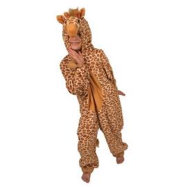 Costume peluche girafe enfant