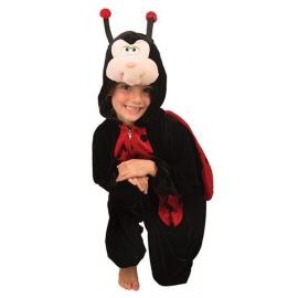Costume peluche coccinelle enfant