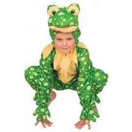 Costume peluche grenouille enfant