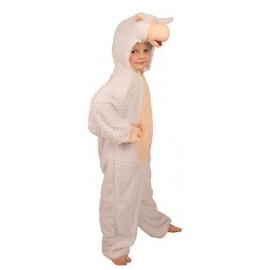 Costume peluche mouton enfant