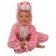 Costume peluche panthère rose enfant