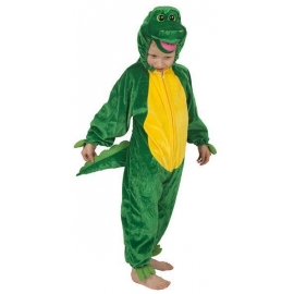 Costume peluche crocodile enfant