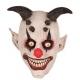 Masque clown avec cornes