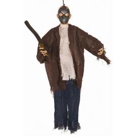 Décoration homme masque leds 90cm