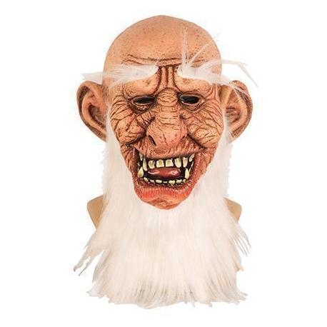 Masque latex zombie avec chapeau