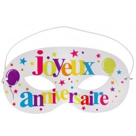 10 loups joyeux anniversaire - Festif multicolore