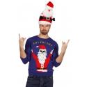Pull moche homme/femme Père Noël
