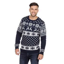 Pull moche homme/femme Renne