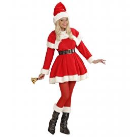 Deguisement Mere Noel luxe