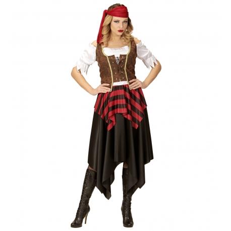 Pirate des sept mers femme - Déguisement