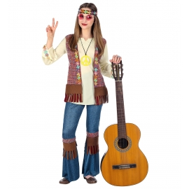 Déguisement hippy fille enfant