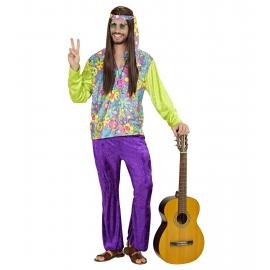 Déguisement adulte hippie homme