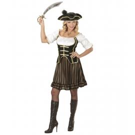 Déguisement capitaine des pirates femme