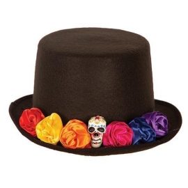 Chapeau Haut de forme Day of the dead