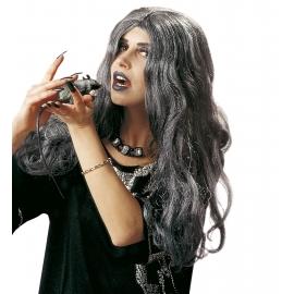Perruque longue sorcière Crudélia