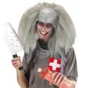 Crâne Zombie avec cheveux