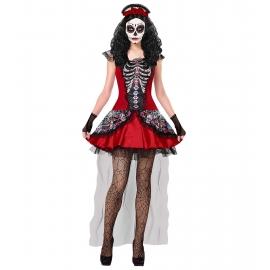 Femme jour des morts - Déguisement halloween