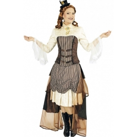 Steampunk Vicoria - Déguisement halloween
