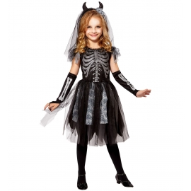 Mariée Squelette - Déguisement Halloween