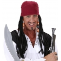Bandana pirate avec dreadlocks