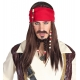Perruque femme pirate des Caraibes