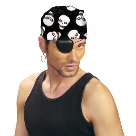 Bandana pirate 55x55cm