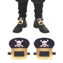Boucles de chaussures pirates