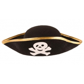 Chapeau Pirate feutre noir