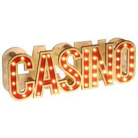 Lettres casino lumienuses