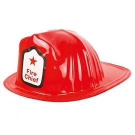 Casque de pompier rouge 1er prix