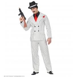 Déguisement Gangster blanc