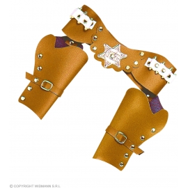 Double Holster marron