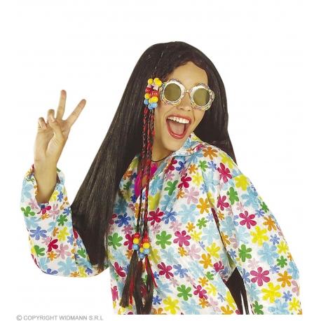 Lunettes multicolores love peace