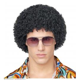 Perruque noire 70's Disco