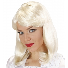 Perruque blonde 70's Abba