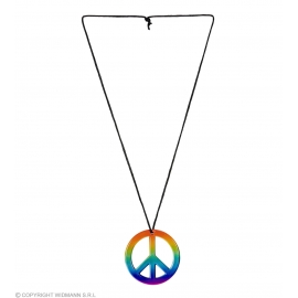 Collier Hippie multicolore