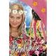 Collants à fleurs hippie roses