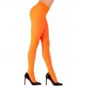 Collants néon orange