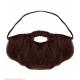 Moustache gaulois orange