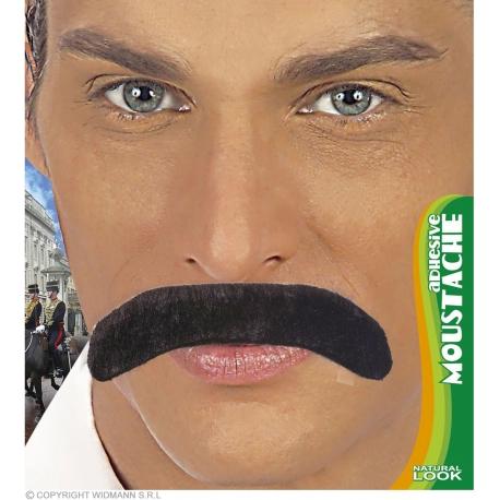 Moustache année 70 noire