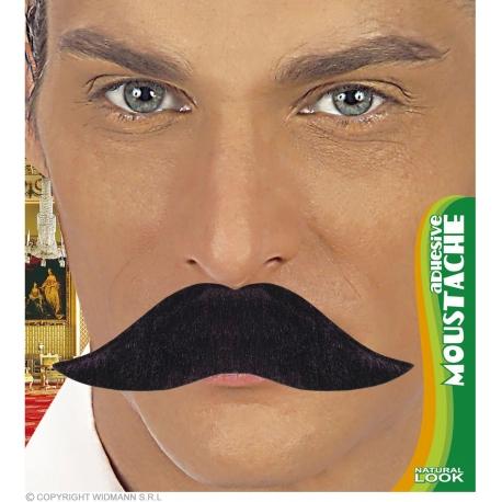 Moustache gaulois blonde